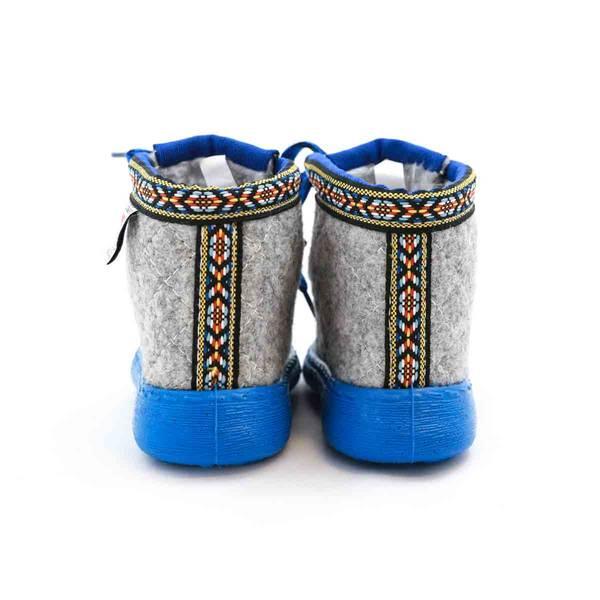 Bilde av Nesnalobben sko original grå BARN